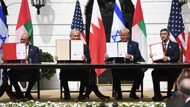 (Deutsch) Abraham Accords zwischen Israel, den Emiraten und Bahrain